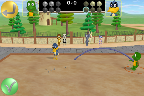 Screenshot Petanque Toons 3D
